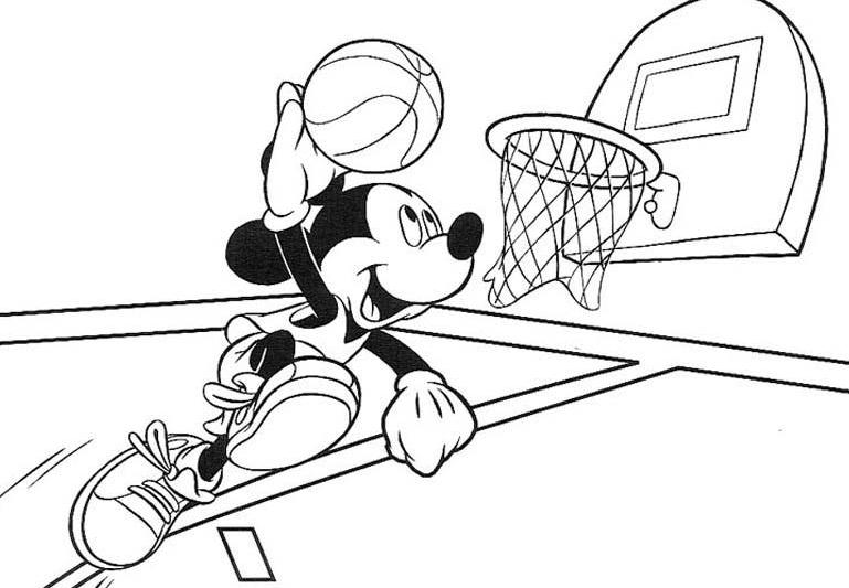 coloring pages : Free Basketball Coloring Pages To Print Best Of ... | 533x769