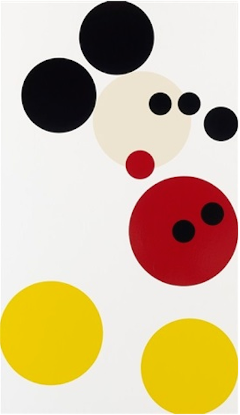 Damien Hirst Png - Mickey Mouse by Damien Hirst for Sale