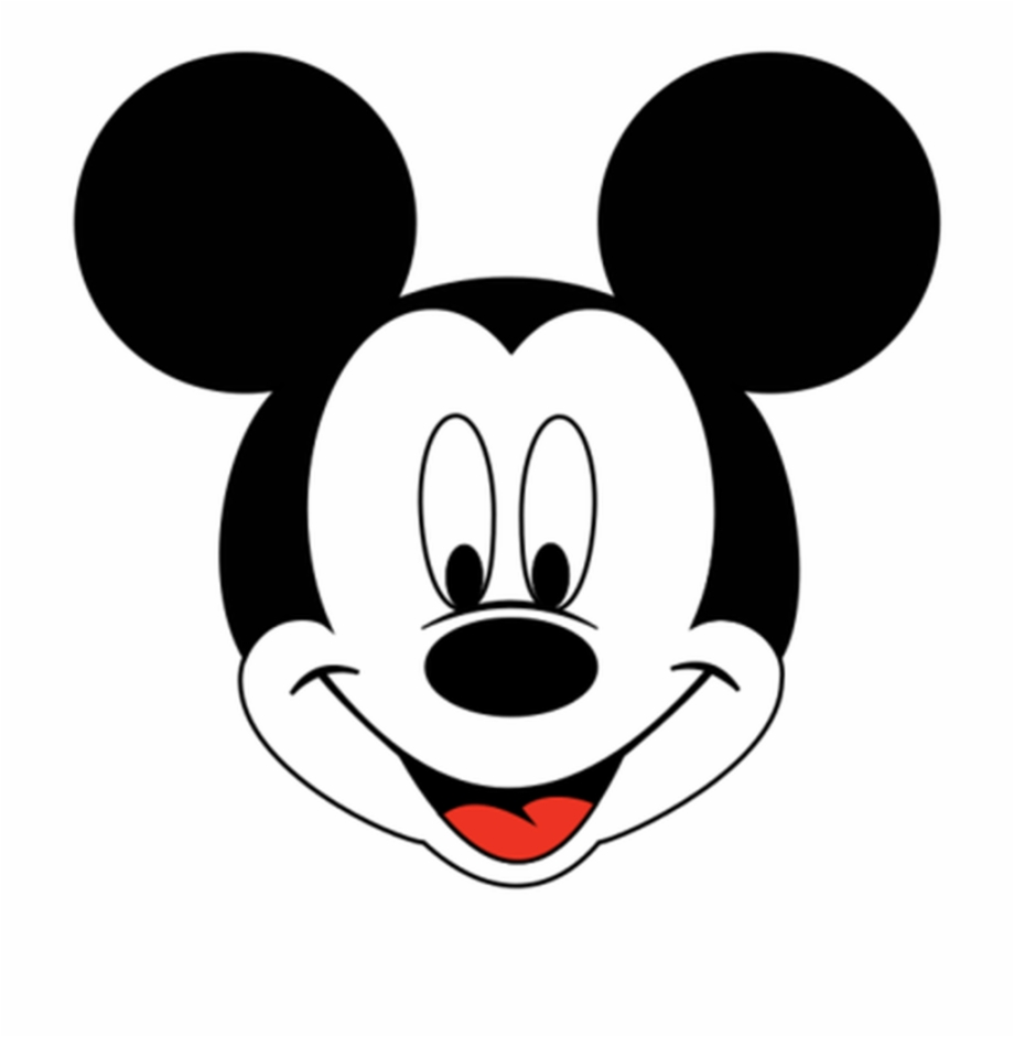 Mickey Mouse Head - Mickey Mouse Head Outline Png - Clipart Mickey Mouse Face Free PNG ...