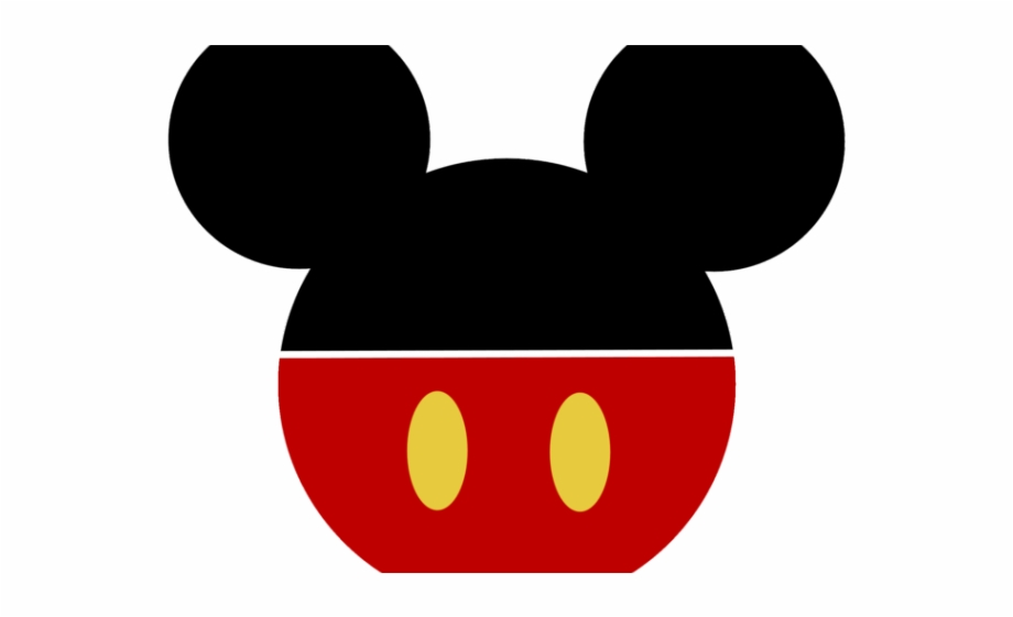 Mickey Mouse Head - Mickey Mouse Head Silhouette - Disney Mickey Mouse Icon Free PNG ...