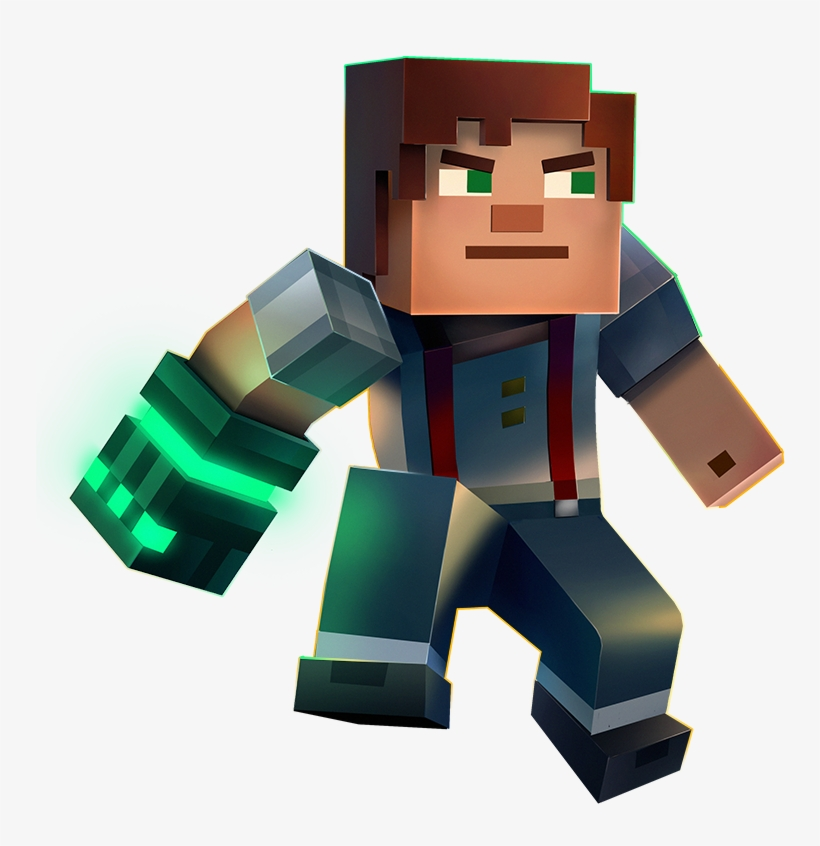Minecraft Story Mode Season 2 Episodes 1114117 Png Images Pngio