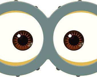 photo relating to Minions Eyes Printable identified as MINION - Minion Video clip - Minion Eyes - Inside #74212 - PNG Pics
