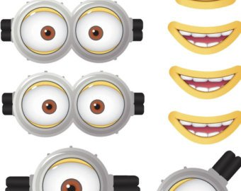 graphic about Minion Printable Eyes identify MINION - Minion Video clip - Minion Eyes - Mi #74220 - PNG Pictures