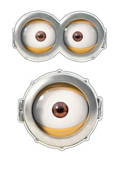 Minion Eyes Png Amp Free Minion Eyes Png Transparent Images