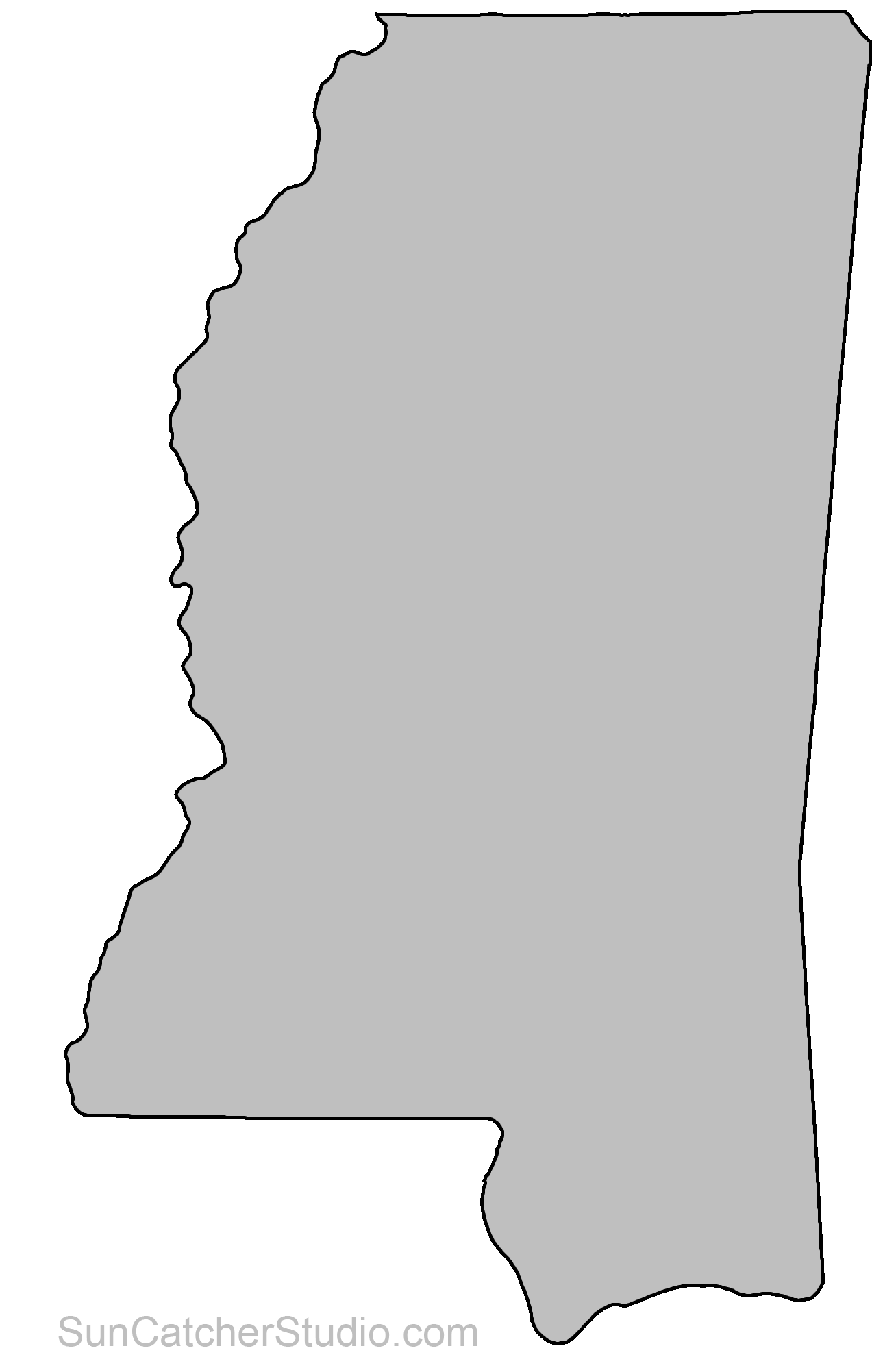 s in mississippi map Mississippi Map Outline Printable S 251548 Png Images Pngio s in mississippi map