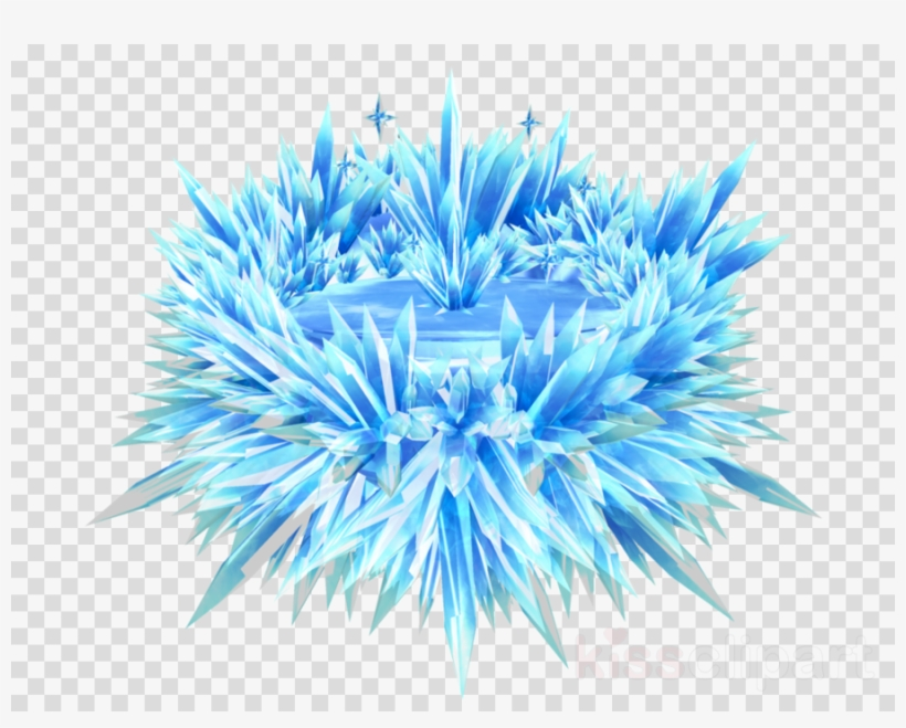 Ice Crystals Png - Mmd Ice Stage Clipart Snowflake Ice Crystals - Elementos Frozen ...