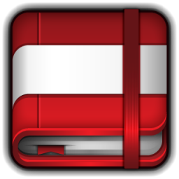 Book Icon Ico Png - Moleskine Red Book Icon - ico,png,icns,Icon pack download