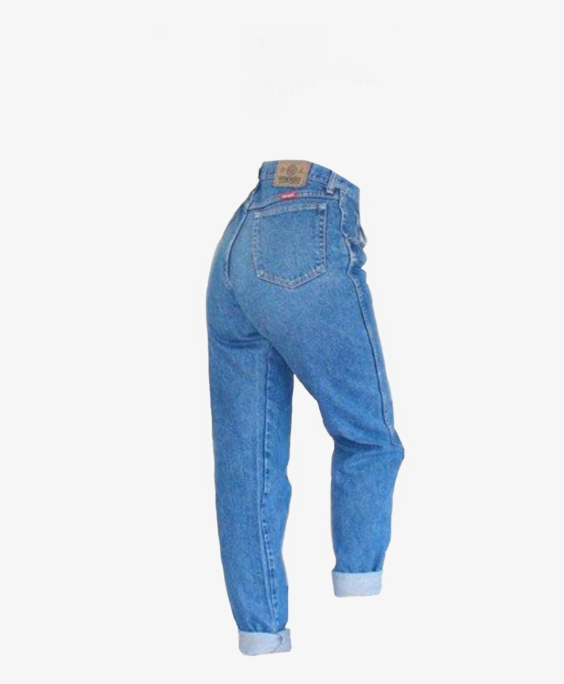 Mom Jeans Png - Mom Jeans - 378x914 PNG Download - PNGkit