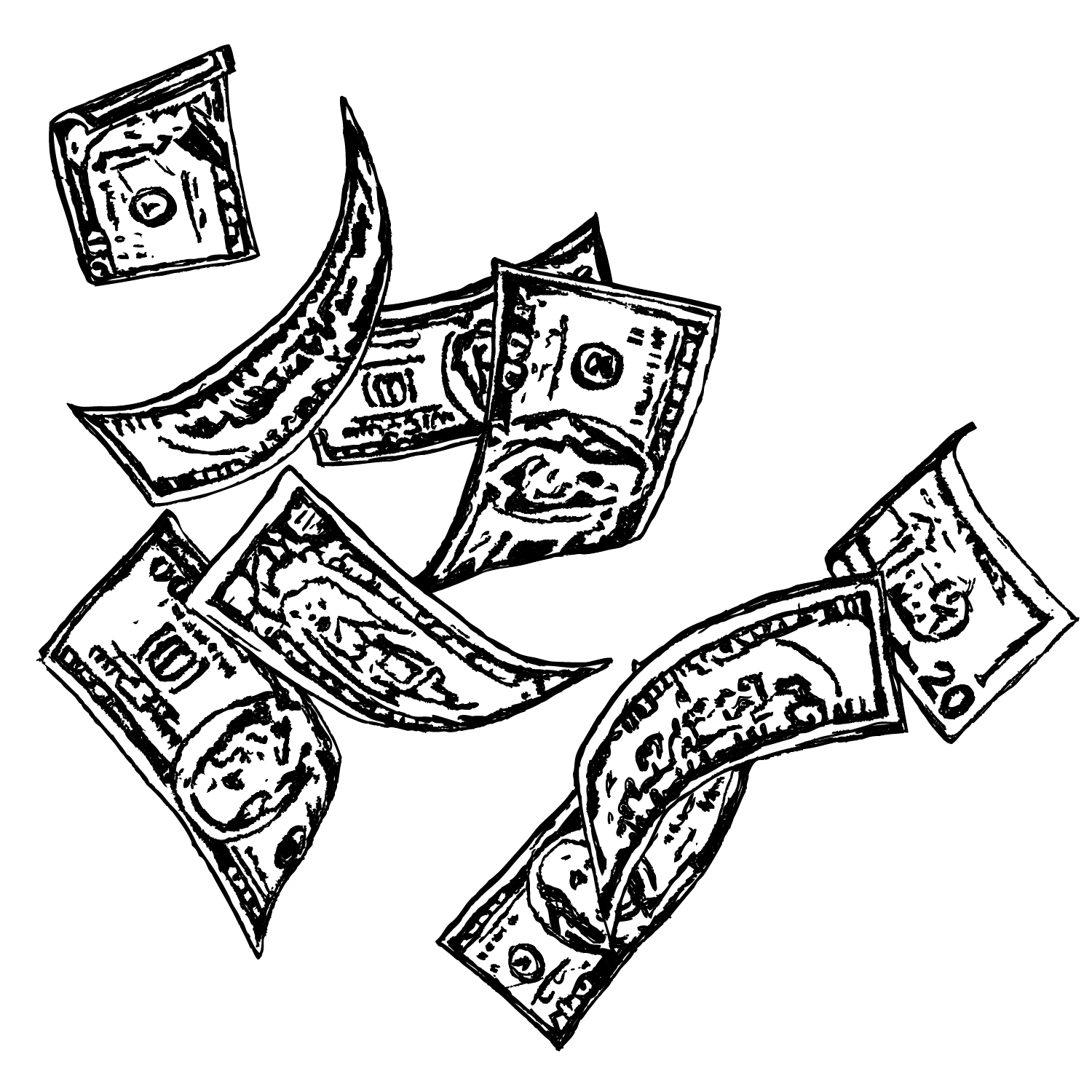 Money Drawing Png - Money drawing png 3 » PNG Image