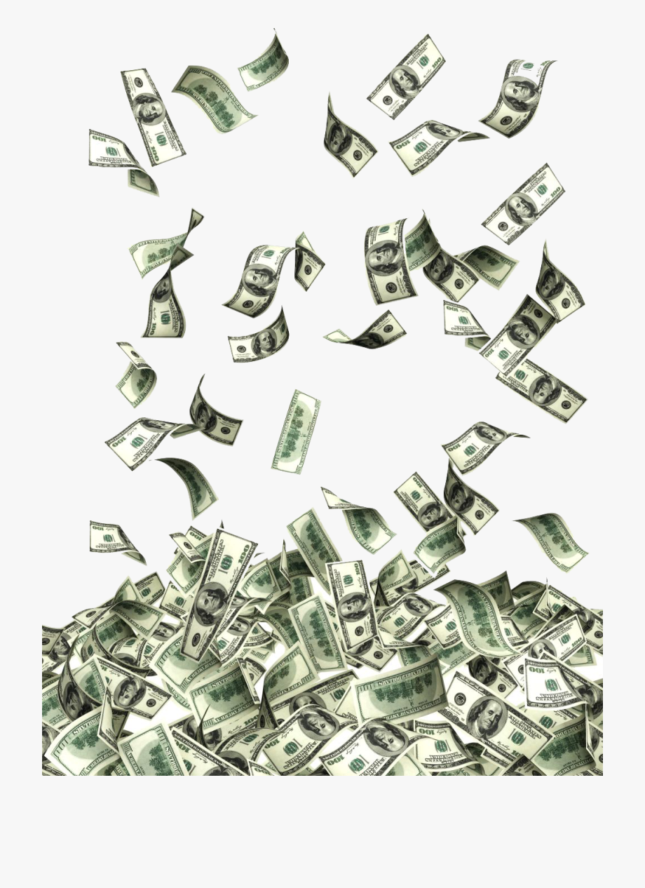 Money Dollar Png - Money Png Flying - Dollars Png #2324684 - Free Cliparts on ClipartWiki