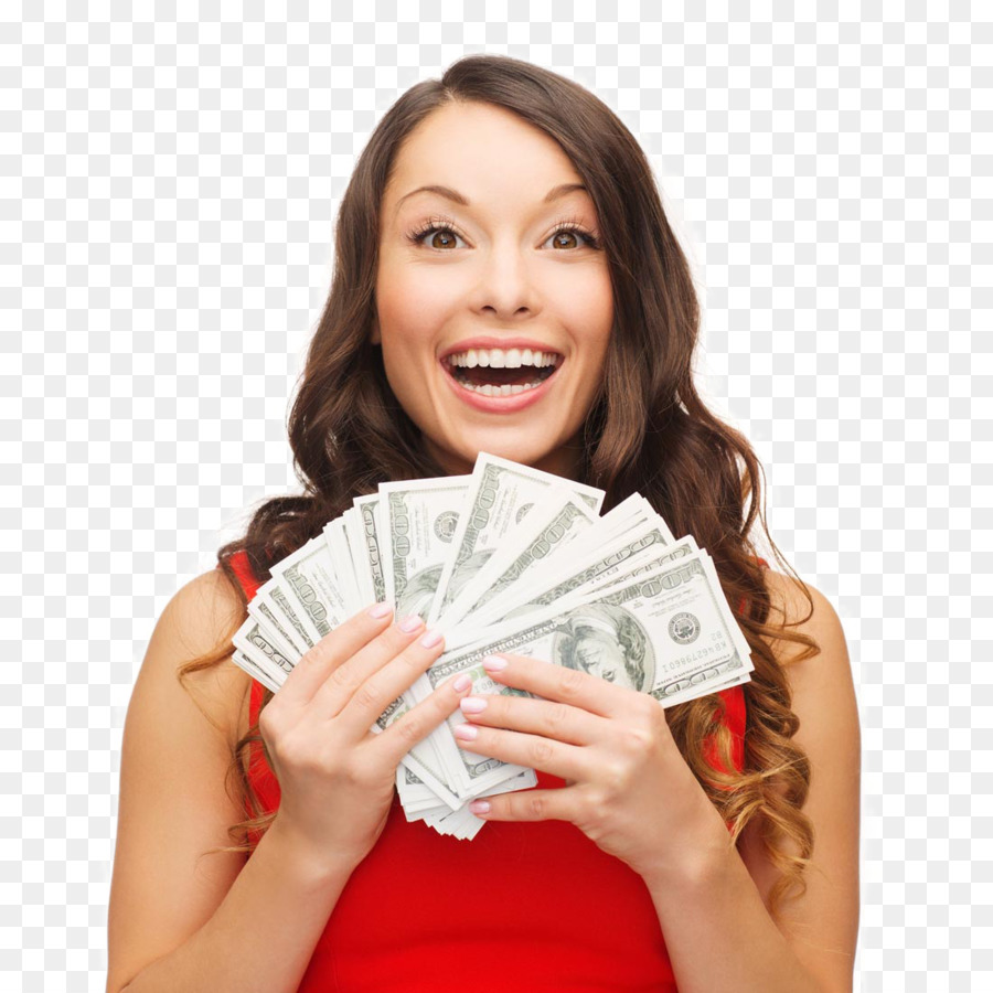 Png Woman With Cash - Money Stock photography Loan Pawnbroker Woman - Banknotes and ...