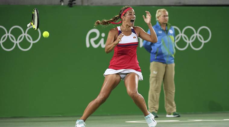Monica Puig Gold Medal Png - Monica Puig secures Puerto Rico's first gold medal | Sports News ...