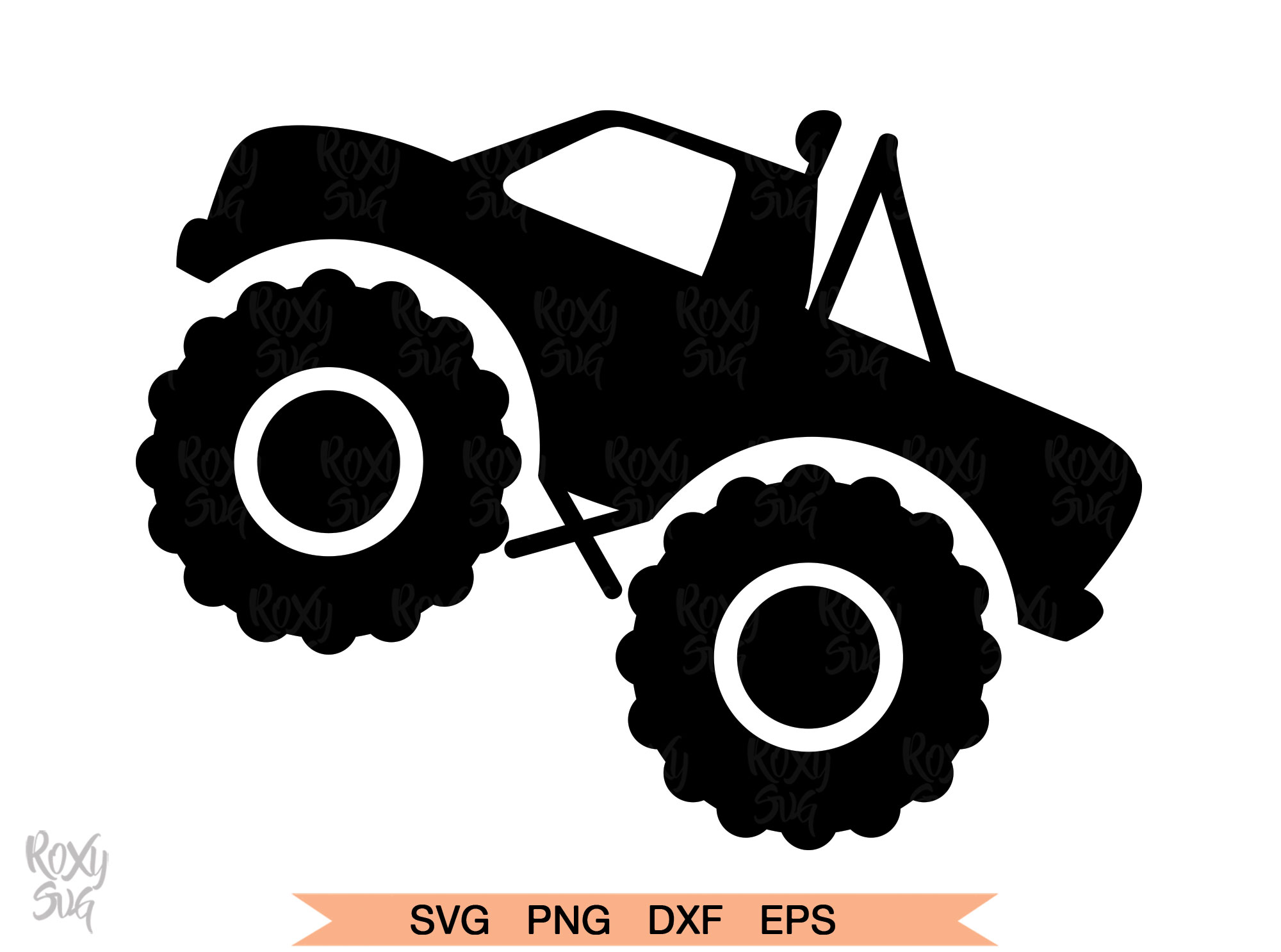 Monster Truck Silhouette Png Free Monster Truck Silhouette Png Transparent Images 146943 Pngio