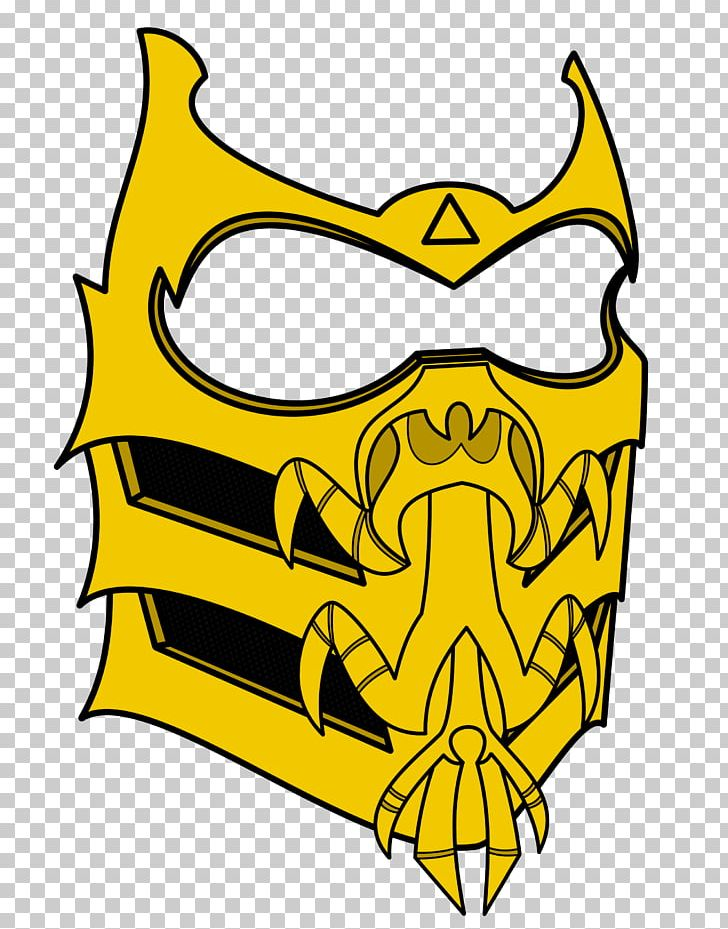 Mortal Kombat X Scorpion Mask Mortal Kom 1934883 Png Images Pngio
