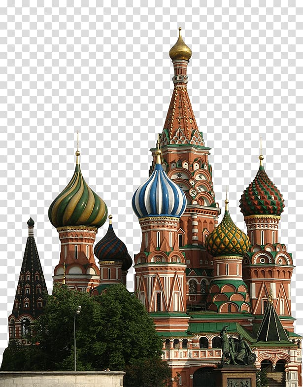 Russia Landmarks Png - Mosque, Russia, Saint Basil\'s Cathedral Red Square Russian ...
