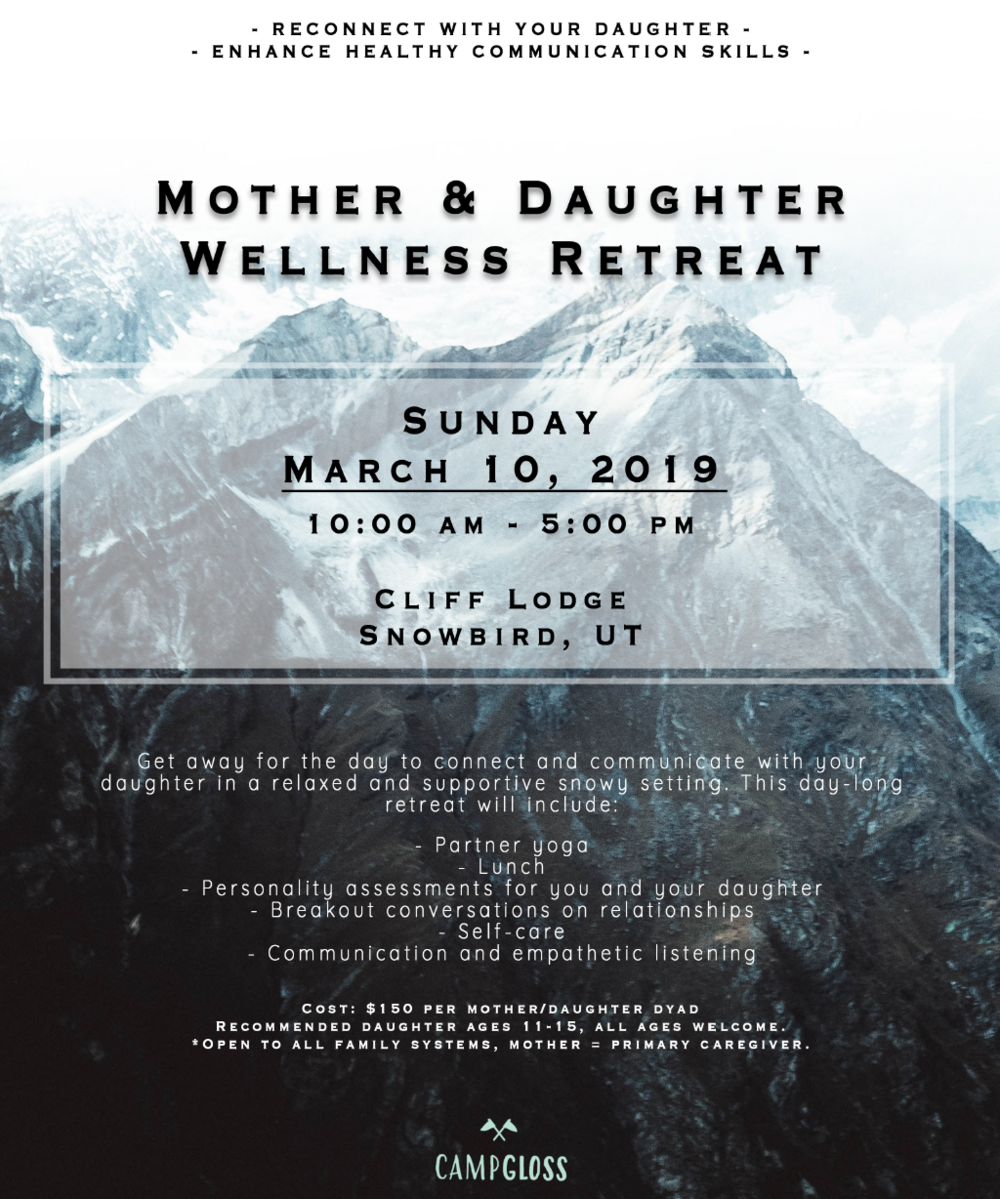 Mother Daughter Camp Png - Mother-Daughter Retreat — Camp Gloss