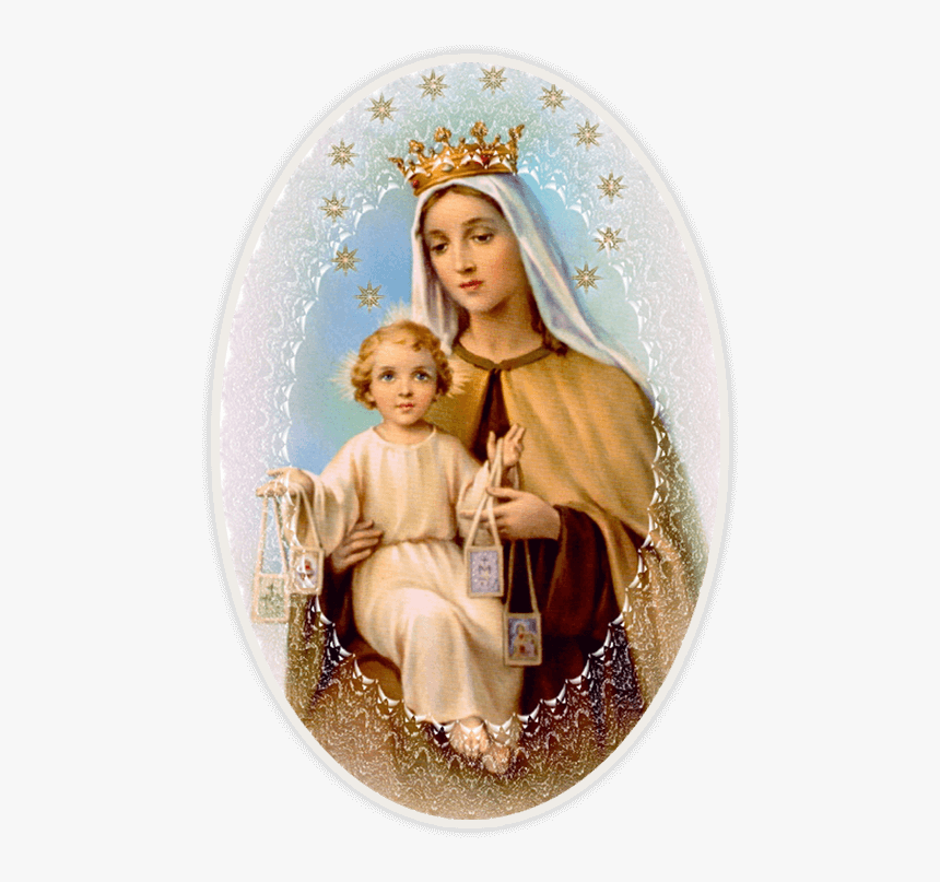 Carmel Png - Mother Mary Mount Carmel, HD Png Download , Transparent Png Image ...