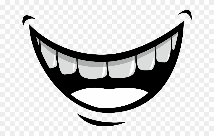 Cartoon Smile Png - Mouth Cartoon Smile Clipart (#1094419) - PinClipart