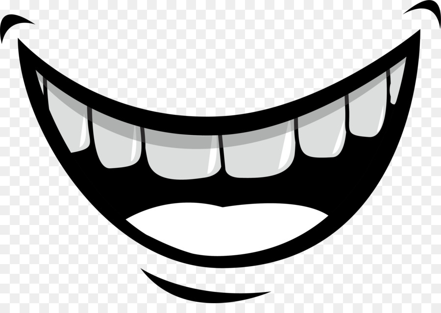 Cartoon Smile Png - Mouth Lip Tooth Illustration - Creative smile expression png ...