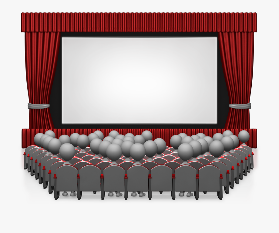 Cartoon Movie Theater Png - Movie Curtain Png - Movie Theater Png , Transparent Cartoon, Free ...