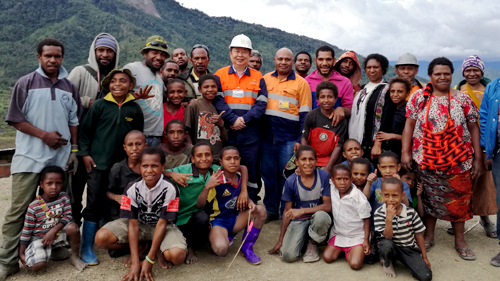 Mining Community Png - Mr. Chen Jinghe Visits Papua New Guinea Prime Minister Peter O ...
