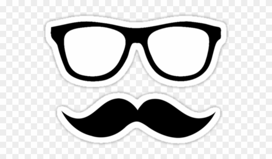 Mustache And Glasses Png - Mustache Clipart Nerdy Glass - Mustache And Glasses Transparent ...