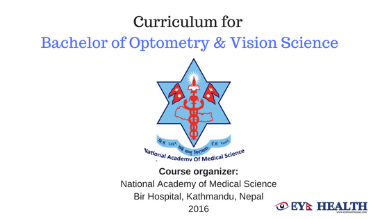 Optometry And Vision Science Png - NAMS, Curriculum for Bachelor of Optometry and vision science ...