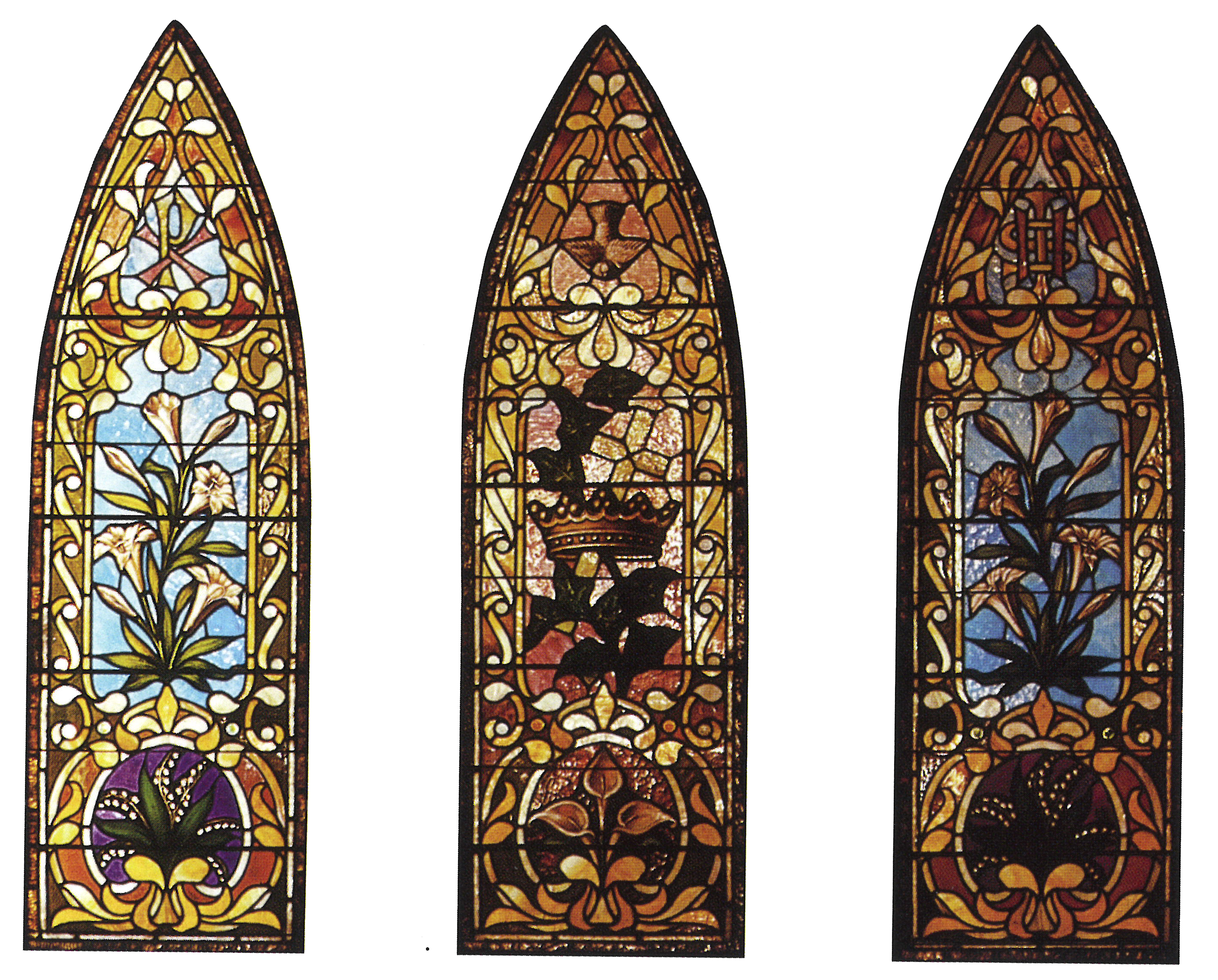 Cathedral Window Png - Narthex Partition