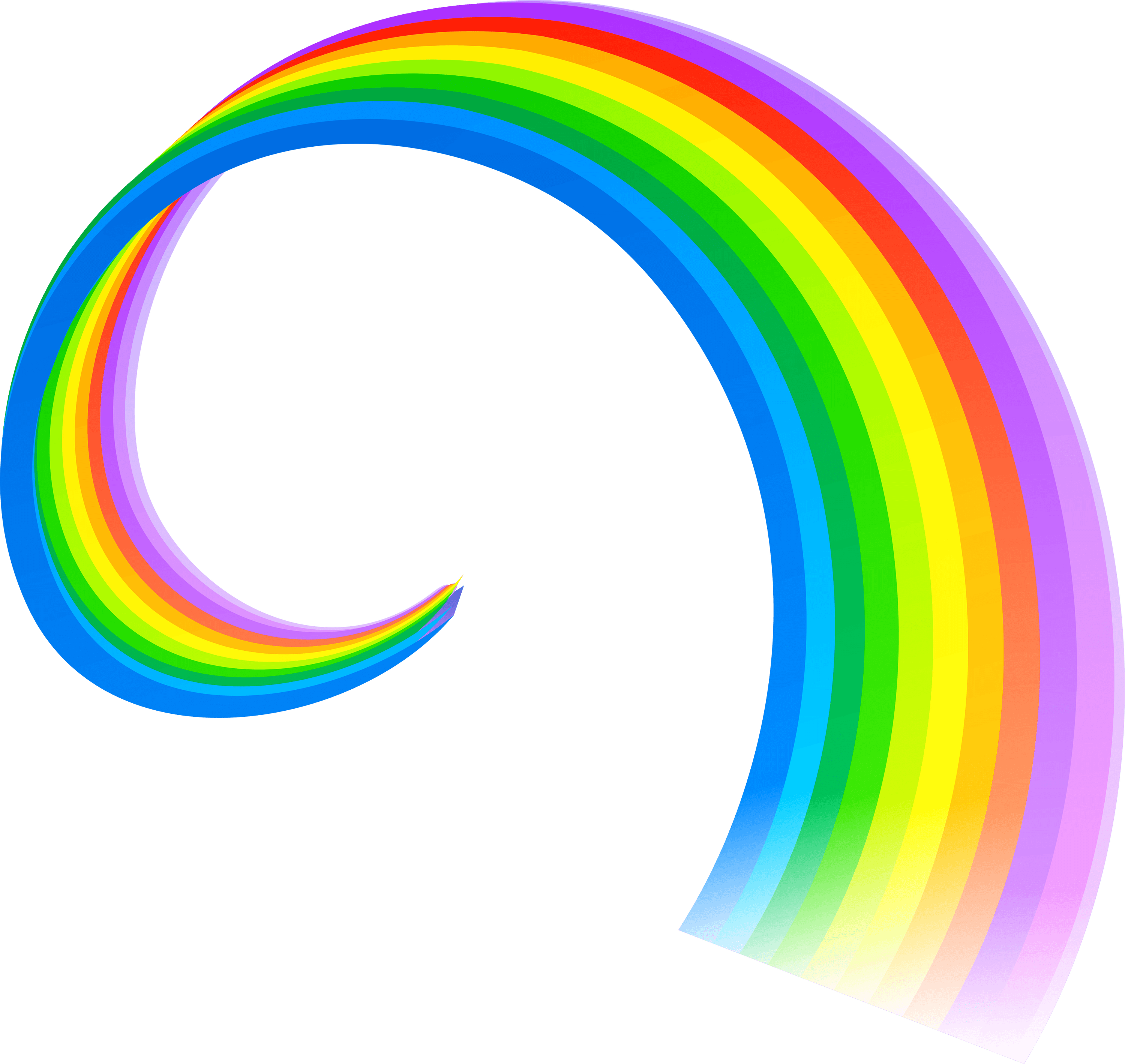 The Rainbow Png - nature · rainbows