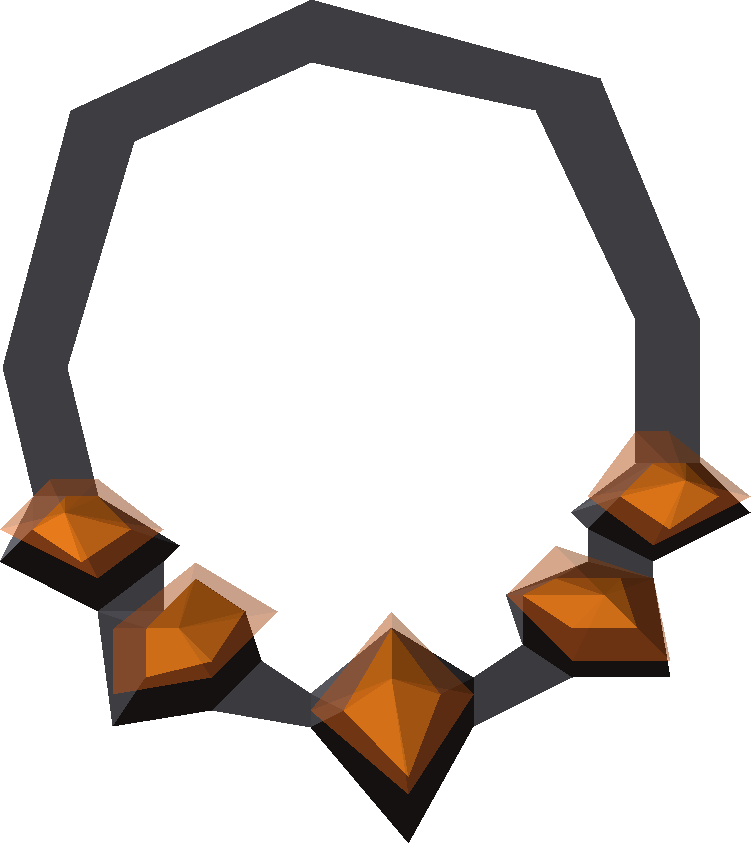 Anguish Png - Necklace of anguish - OSRS Wiki