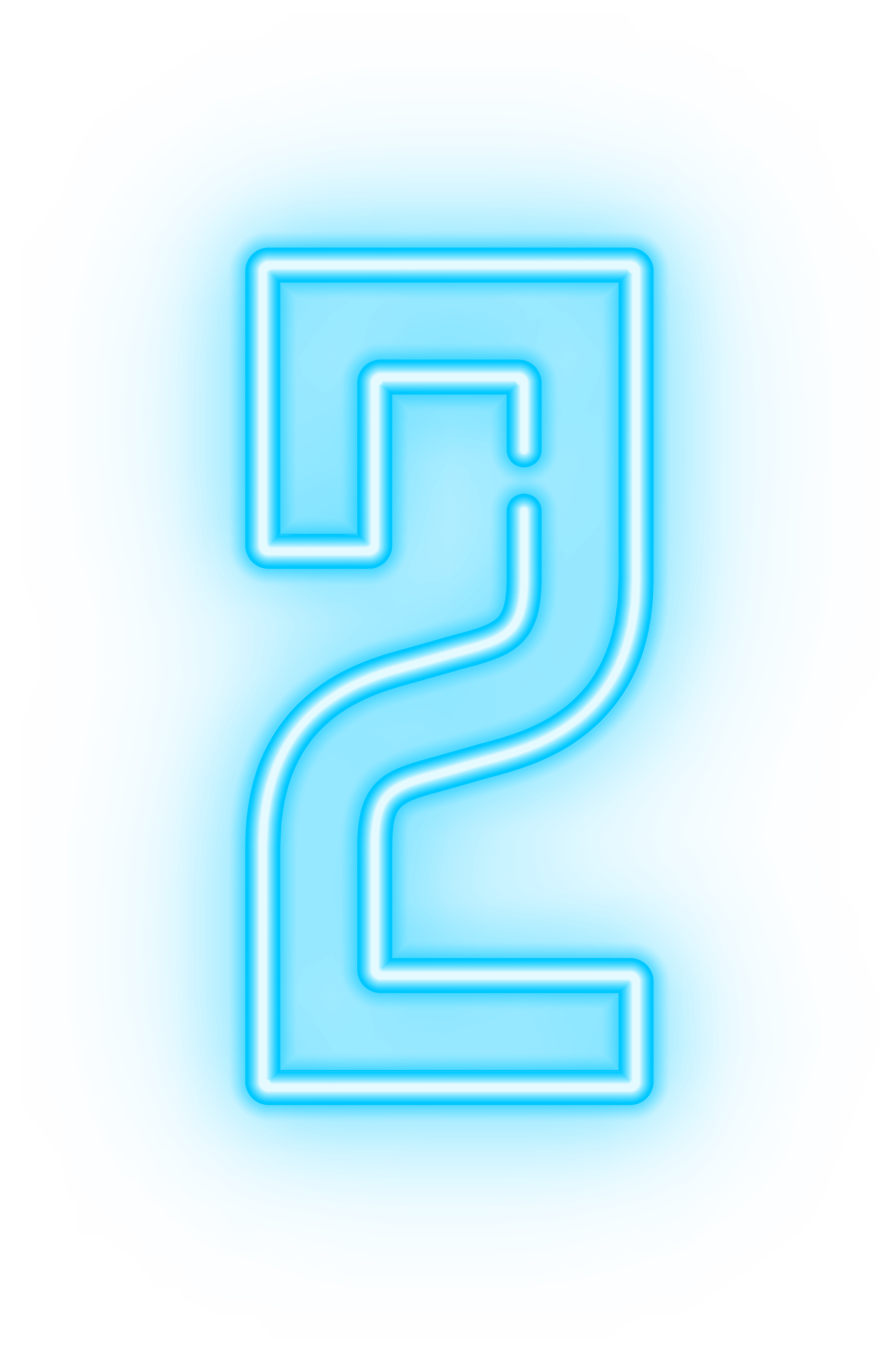 Neon Numbers Png - Neon Number Two Transparent Clip Art Image | Gallery Yopriceville ...