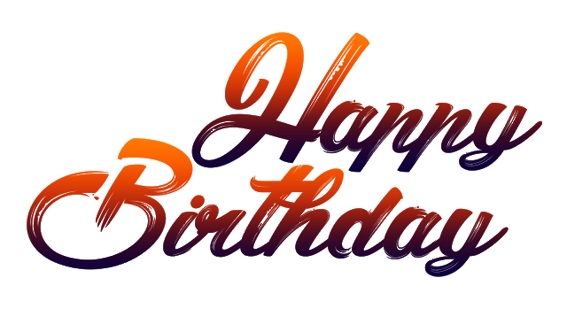 Birthday Png Images - New Happy Birthday Png Fonts Free Download | PNG FILES | Happy ...