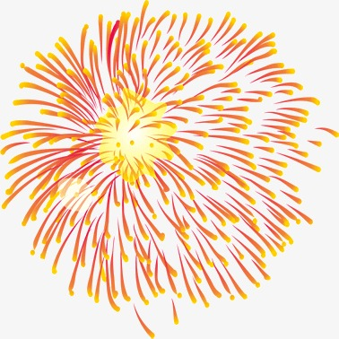 Chinese New Year Fireworks Png - New Year Fireworks Clipart
