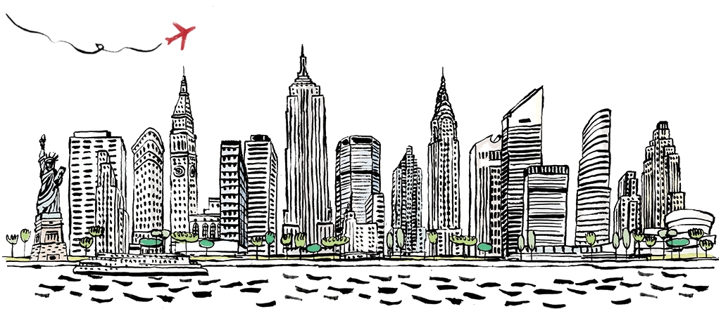 New York City Png Images - New York City PNG Black And White Transparent New York City Black ...