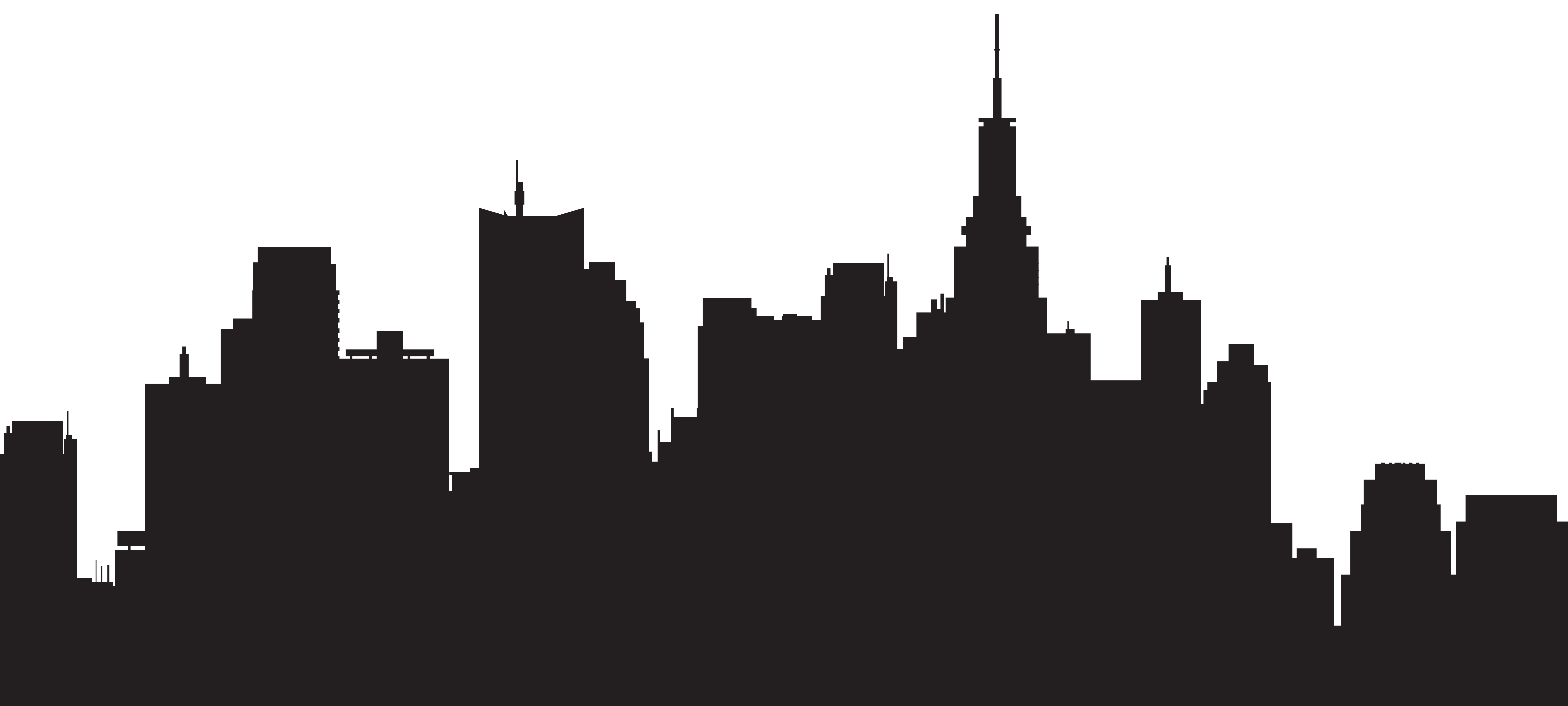 City Skyline Silhouette Png Free City Skyline Silhouette Png Transparent Images 72295 Pngio