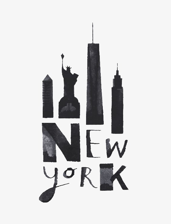 New York Png - New York, New Clipart, Watercolor, Illustration PNG Transparent ...