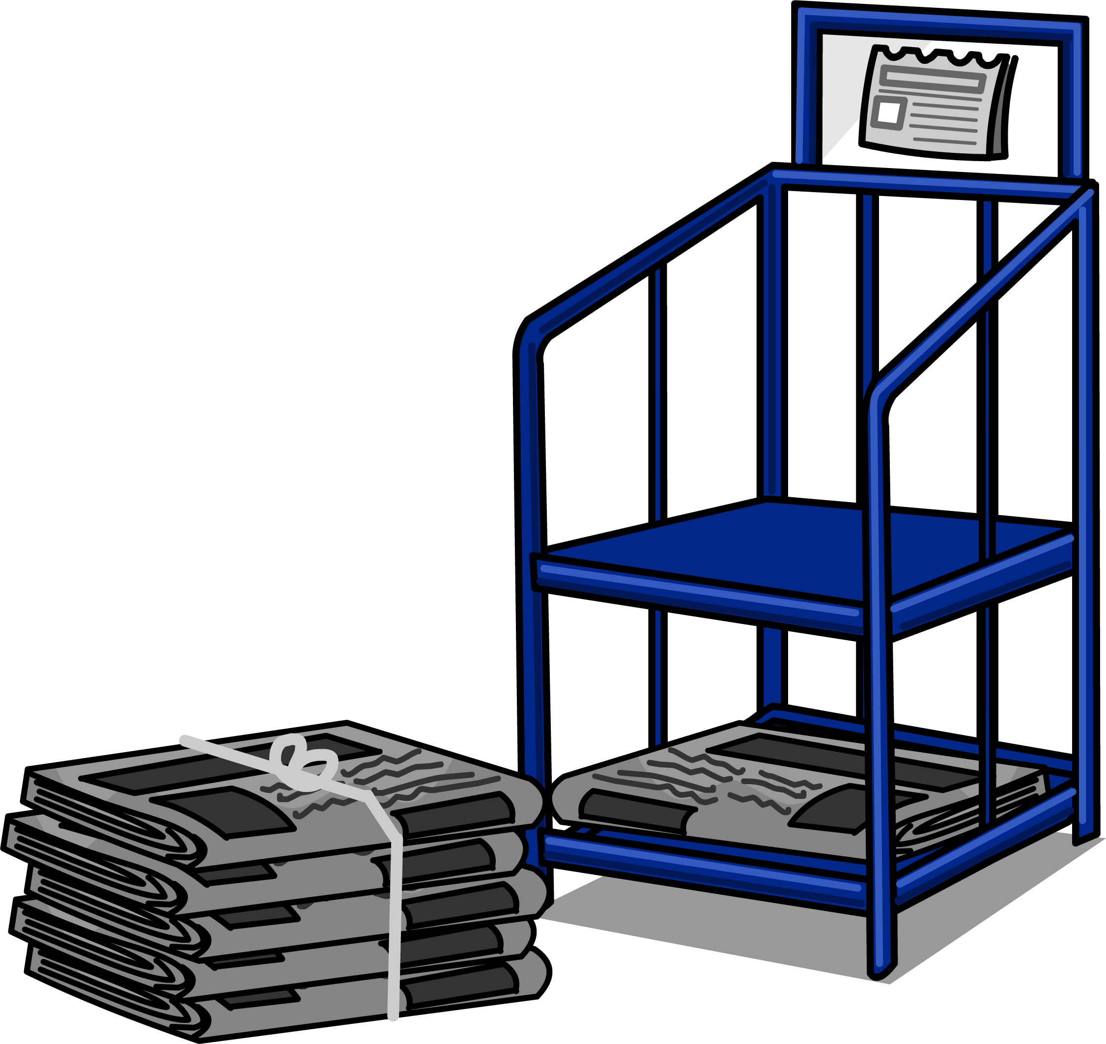 Newspaper Stand Png - Newspaper Stand sprite 004.png