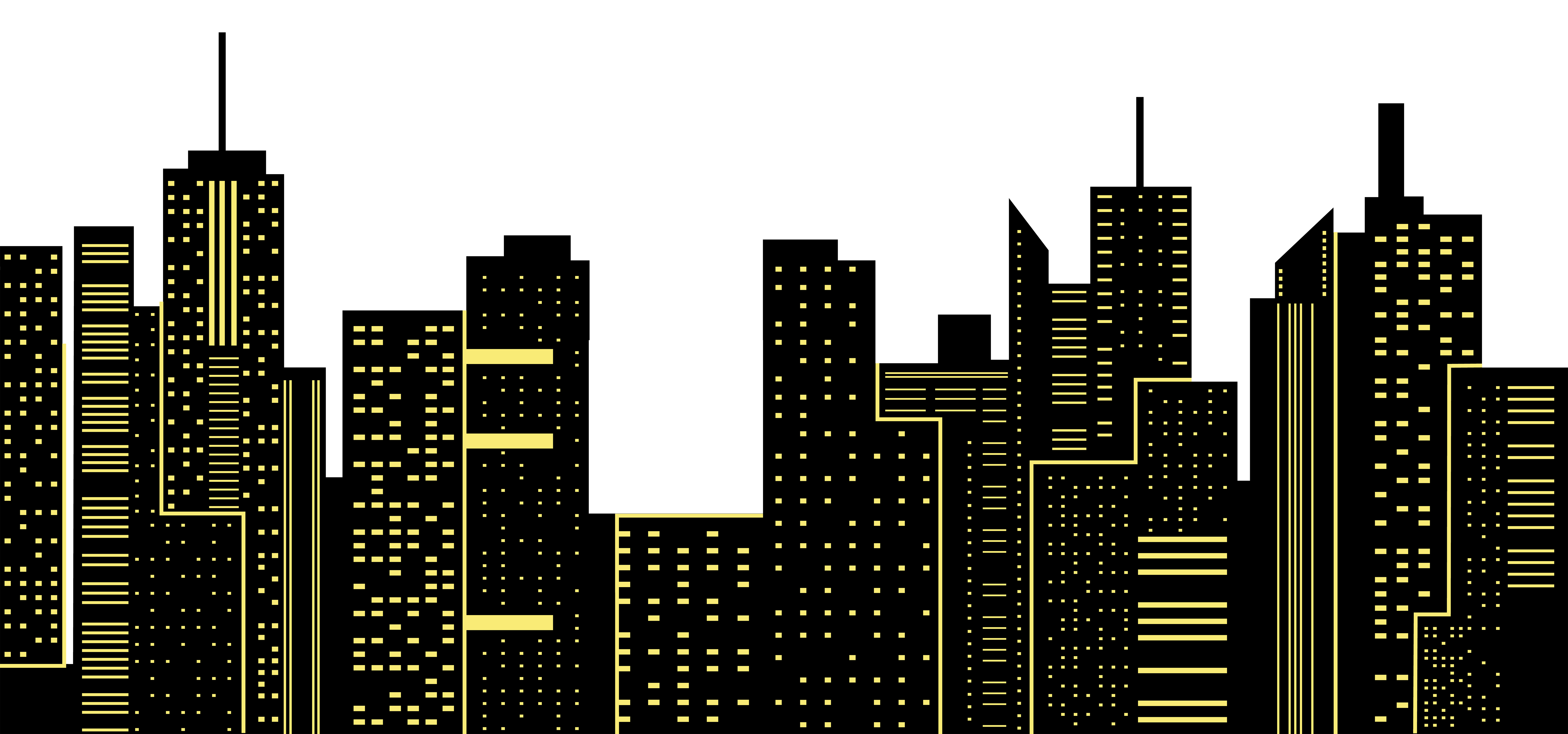 Night City Silhouette Png & Free Night City Silhouette.png ...