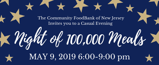 Nj Community Meals Png - Night of 100,000 Meals - CFBNJ
