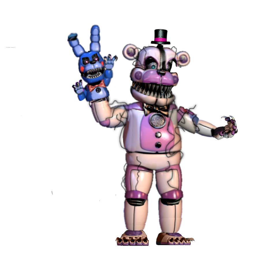 Funtime Freddy Transparent - Nightmare Funtime Freddy transparent by NightmareFreddy05 on ...