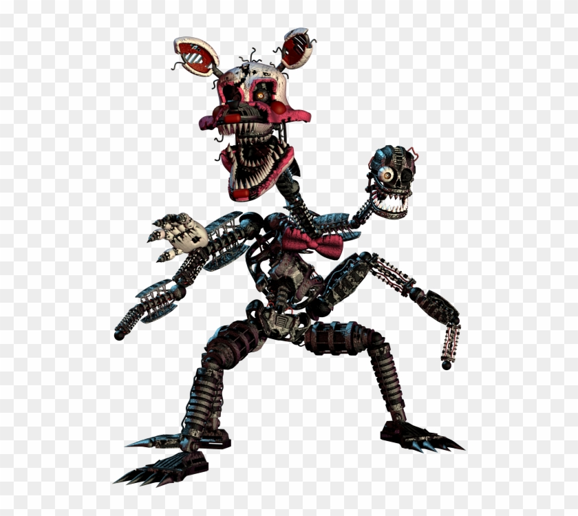 Scary Fnaf Png - Nightmare Mangle Now This Is Cool And Creepy At The - Fnaf ...
