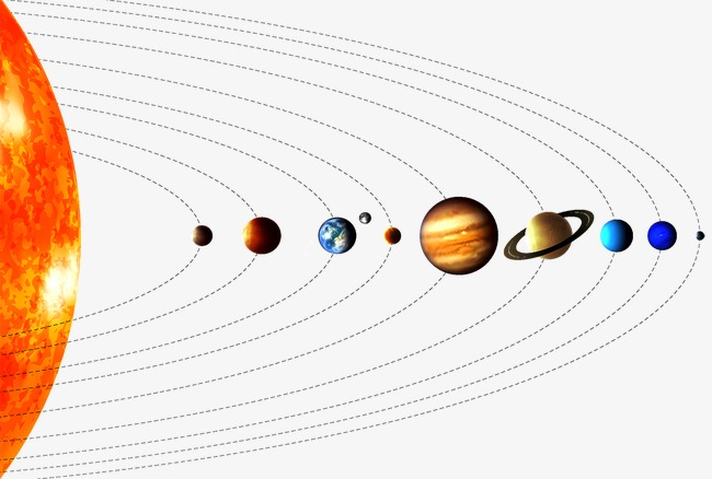Nine Planets Png - Nine Planets, Sun, Mercury, Venus PNG and Vector for Free Download