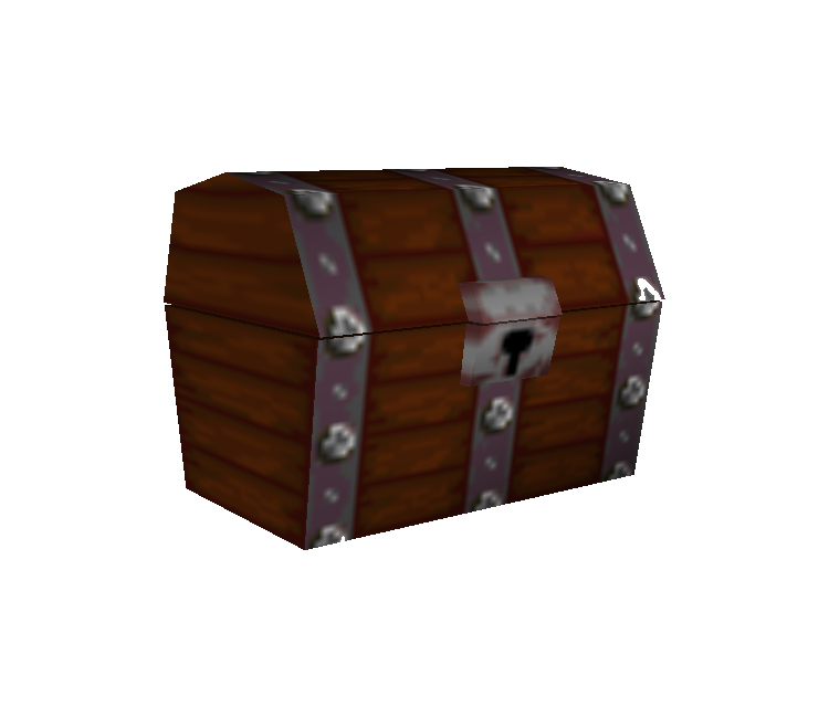Trunk Party Png - Nintendo 64 - Mario Party - Treasure Chest - The Models Resource