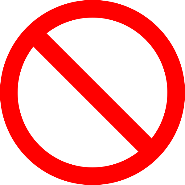No Sign Png - No sign icon png #20455 - Free Icons and PNG Backgrounds