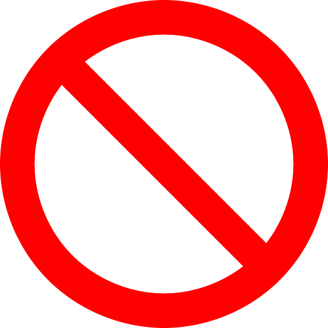 No Sign Png - No Symbol Prohibition Sign - Free vector graphic on Pixabay