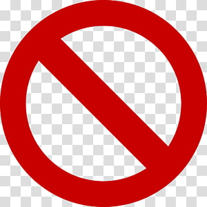 No Symbol Sign Prohibited Signs