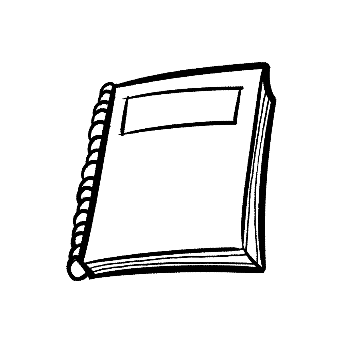 Notebook Black And White Png - Note Book PNG Black And White Transparent Note Book Black And ...