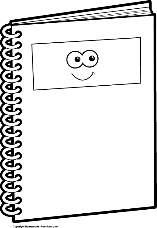 Notebook Black And White Png - Notebook Clipart Black And White   Clipart library - Free Clipart ...