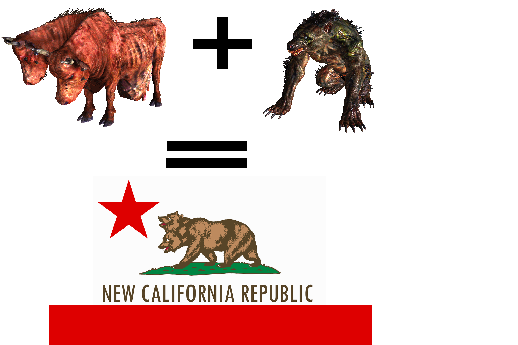 New California Republic Png - Now let's just hope NCR won't actually try and breed these things ...