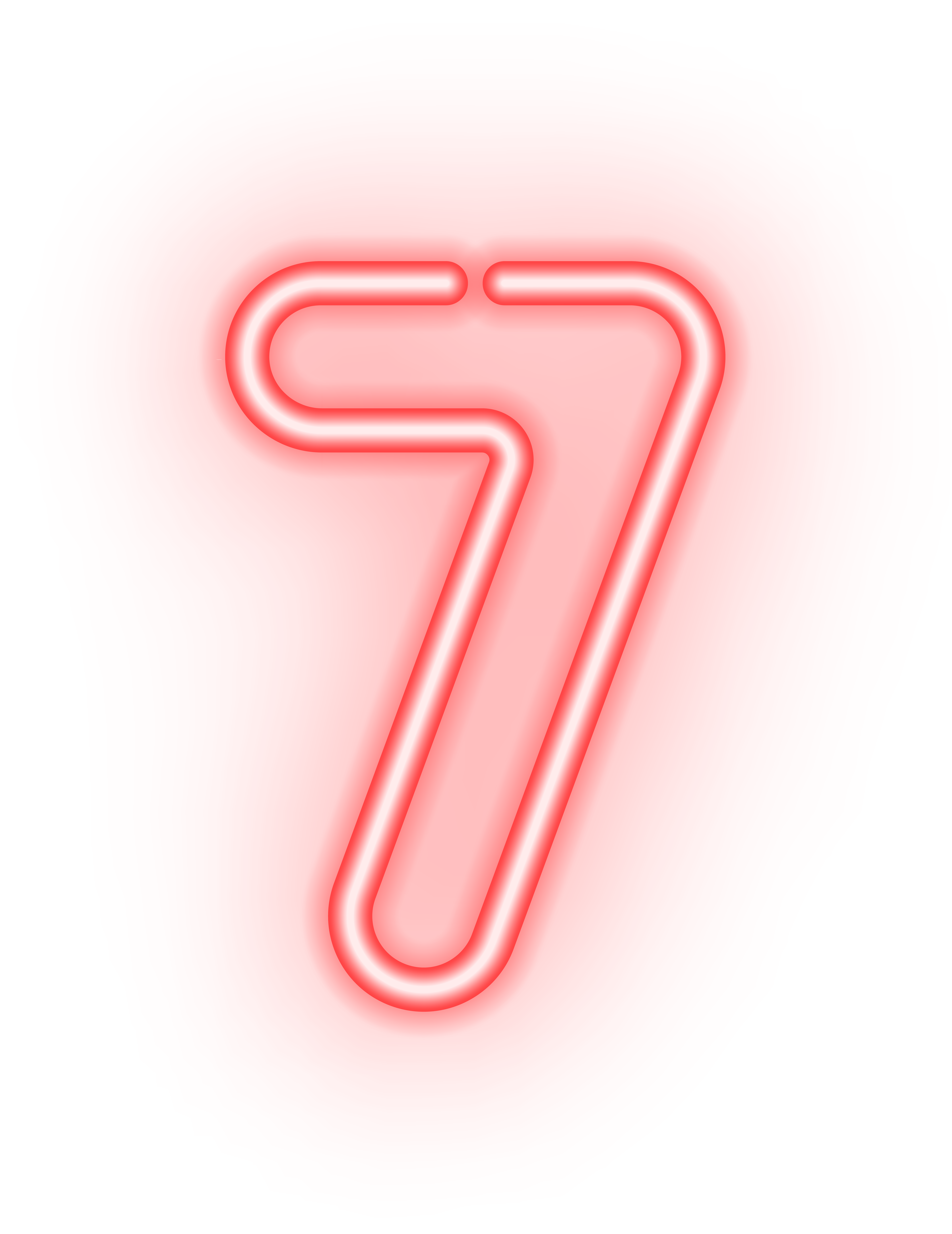 Neon Numbers Png - Number Seven Neon Transparent PNG Image | Gallery Yopriceville ...